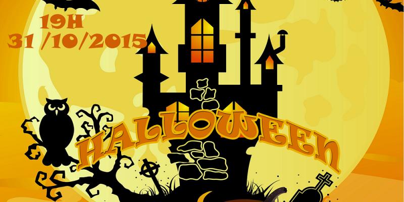 """Halloween 2016 """"Vũ Hội Bóng Đêm"""" tại Better Language & Skill"""