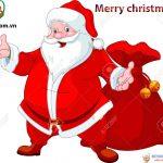 """Ông già Noel """"Better Language & Skill"""" chuyển quà miễn phí Noel 2016"""