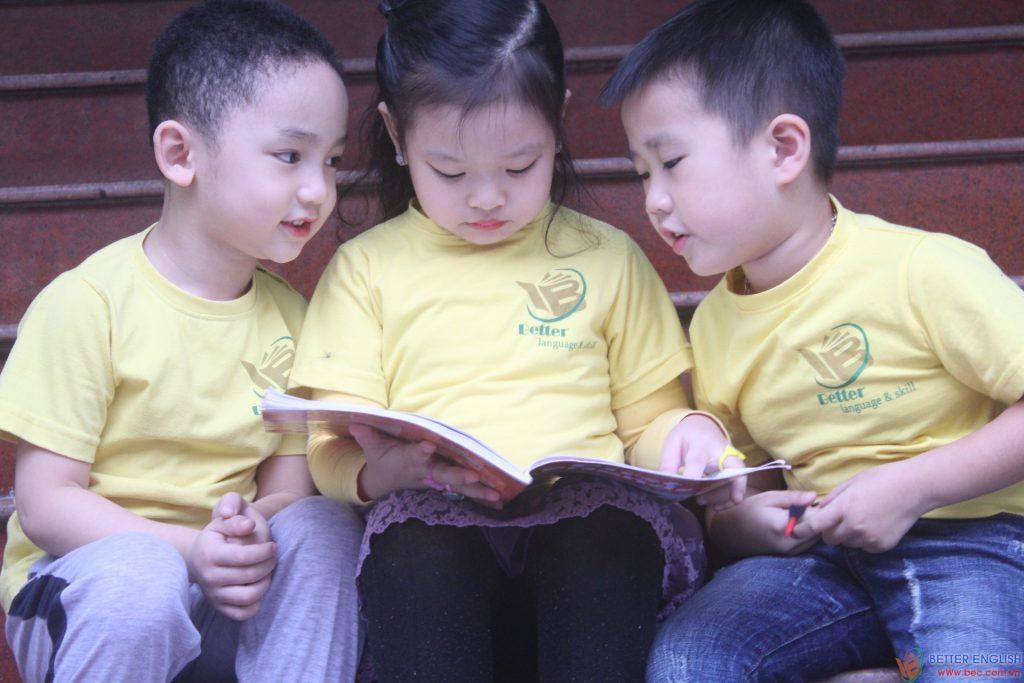 học tiếng Anh trẻ em