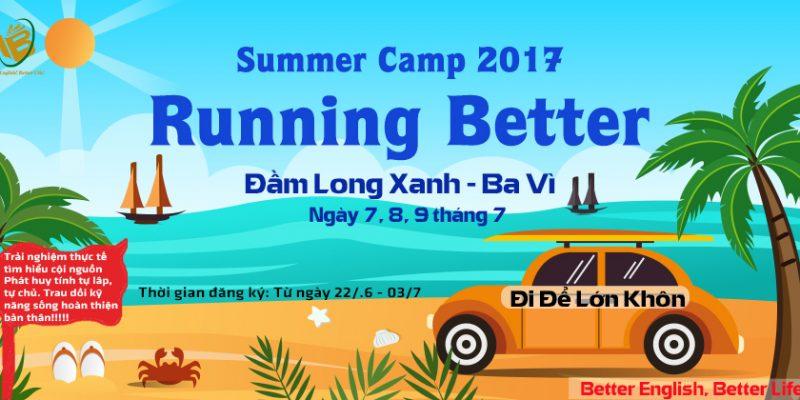 """Summer Camp 2017 """"Running Better"""""""