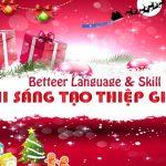 """Cuộc thi """"Sáng tạo thiệp Giáng Sinh"""" của Better English Thái Bình"""