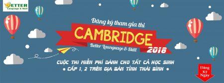 ĐĂNG KÝ THI THỬ CAMBRIDGE