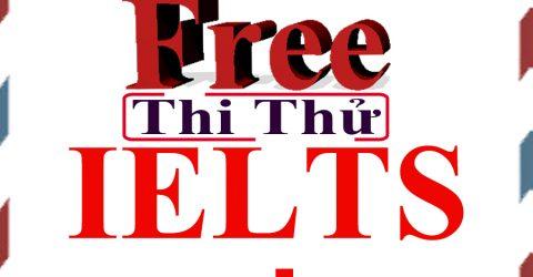 Thi IELTS miễn phí thái bình