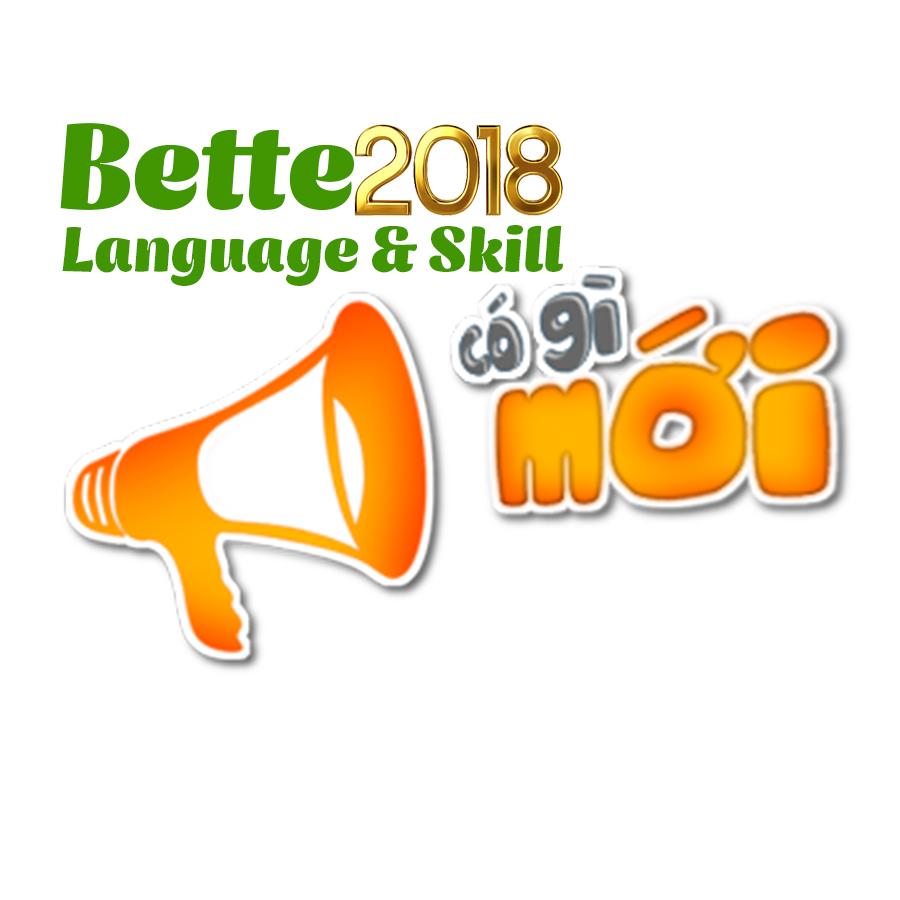 Better English 2018 có gì mới?