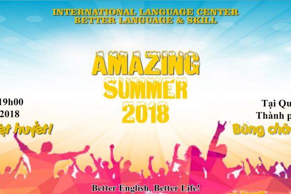 """Chào hè 2018 """"Amazing Summer"""""""