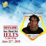 Offline thi thử IELTS lần 2 tại thái bình