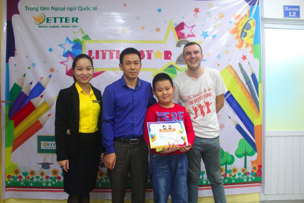 Chung Kết cuộc thi tiếng Anh Little Star cấp Tiểu học