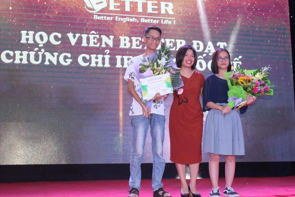Vinh danh Học viên Better đã đạt chứng chỉ IELTS Quốc tế
