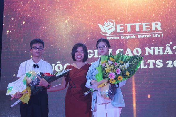 Vinh danh Top 3 thí sinh có thành tích tốt nhất Kỳ thi thử IELTS đợt 1 năm 2019