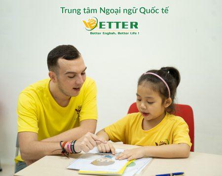 Học tiếng Anh từ 3-6 tuổi