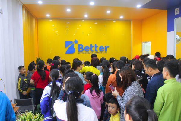 Sự quan tâm cực lớn cửa Phụ huynh và Học viên dành cho Better