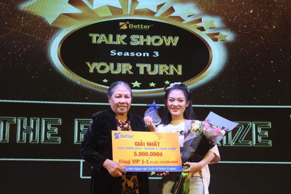 Nguyễn Thị Thu Cúc - Quán quân Talk Show 2019 season 3