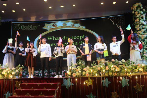 Các thí sinh tham gia vòng thi thứ 2