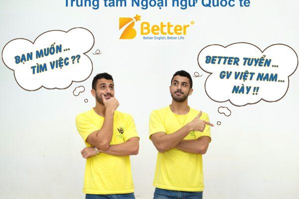 Better English tuyển dụng